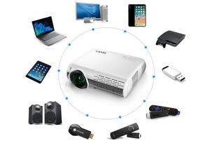 Test et avis sur le vidéoprojecteur Yaber 7000 Lumens Full HD